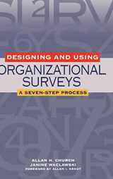 9780787956776-0787956775-Designing and Using Organizational Surveys: A Seven-Step Process