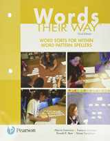 9780134575681-0134575687-Words Their Way: Word Sorts for Within Word Pattern Spellers (Words Their Way Series)