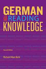 9781133604266-1133604269-German for Reading Knowledge (World Languages)