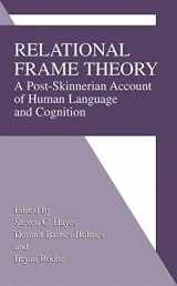 9781475775211-1475775210-Relational Frame Theory: A Post-Skinnerian Account Of Human Language And Cognition