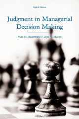 9781118065709-1118065700-Judgment in Managerial Decision Making