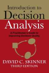 9780964793866-0964793865-Introduction to Decision Analysis (3rd Edition)