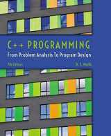 9781285852744-1285852745-C++ Programming: From Problem Analysis to Program Design