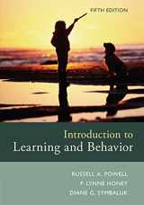 9781305652941-1305652940-Introduction to Learning and Behavior