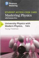 9780133978216-0133978214-Mastering Physics with Pearson eText -- Standalone Access Card -- for University Physics with Modern Physics (14th Edition)