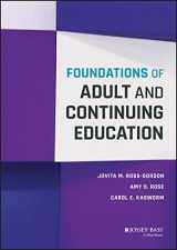 9781118955093-1118955099-Foundations of Adult and Continuing Education