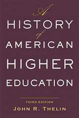 9781421428833-1421428830-A History of American Higher Education