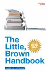 9780134586335-0134586336-Little Brown Handbook, The, MLA Update Edition (13th Edition)