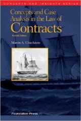 9781609303303-160930330X-Concepts and Case Analysis in the Law of Contracts, 7th (Concepts and Insights)