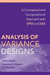 9780521874816-0521874815-Analysis of Variance Designs: A Conceptual and Computational Approach with SPSS and SAS