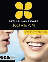 9780307972231-0307972232-Living Language Korean, Complete Edition: Beginner through advanced course, including 3 coursebooks, 9 audio CDs, Korean reading & writing guide, and free online learning