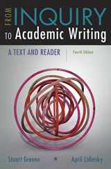 9781319071233-1319071236-From Inquiry to Academic Writing: A Text and Reader
