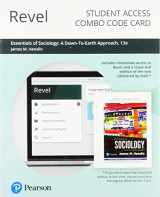 9780135193464-013519346X-Revel for Essentials of Sociology: A Down-To-Earth Approach -- Combo Access Card