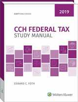 9780808049036-0808049038-CCH Federal Tax Study Manual 2019