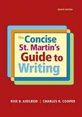 9781319058548-131905854X-The Concise St. Martin's Guide to Writing