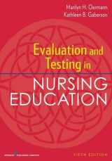 9780826194886-0826194885-Evaluation and Testing in Nursing Education, Fifth Edition