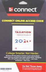 9781260432503-1260432505-Connect Access Card for McGraw-Hill's Taxation of Individuals 2020 Edition