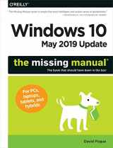9781492057291-1492057290-Windows 10 May 2019 Update: The Missing Manual: The Book That Should Have Been in the Box