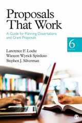9781452216850-1452216851-Proposals That Work: A Guide for Planning Dissertations and Grant Proposals