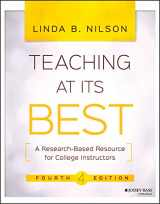9781119096320-1119096324-Teaching at Its Best: A Research-Based Resource for College Instructors
