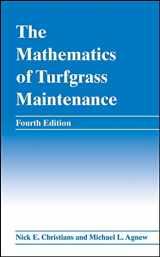 9780470048450-047004845X-The Mathematics of Turfgrass Maintenance