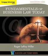 9781305075443-1305075447-Cengage Advantage Books: Fundamentals of Business Law Today: Summarized Cases