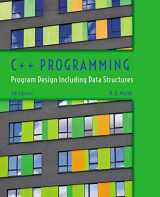 9781285852751-1285852753-C++ Programming: Program Design Including Data Structures