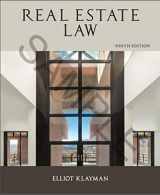 9781475431629-1475431627-Real Estate Law (REAL ESTATE LAW (KARP, JAMES))