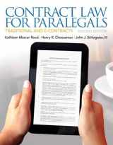 9780135109458-0135109450-Contract Law for Paralegals