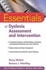 9780470927601-0470927607-Essentials of Dyslexia Assessment and Intervention