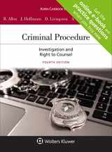 9781543804379-1543804373-Criminal Procedure: Investigation and the Right to Counsel (Aspen Casebook)