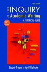 9781319089689-1319089682-From Inquiry to Academic Writing with 2016 MLA Update