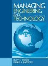 9780133485103-0133485102-Managing Engineering and Technology