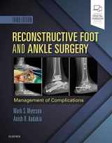 9780323496933-0323496938-Reconstructive Foot and Ankle Surgery: Management of Complications