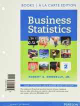 9780133852288-0133852288-Business Statistics Student Value Edition Plus NEW MyLab Statistics with Pearson eText -- Access Card Package