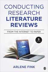 9781544318479-1544318472-Conducting Research Literature Reviews: From the Internet to Paper (NULL)