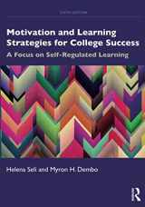 9780367002145-0367002140-Motivation and Learning Strategies for College Success