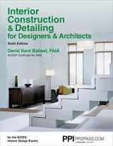 9781591264200-1591264200-PPI Interior Construction & Detailing for Designers & Architects, 6th Edition – A Comprehensive NCIDQ Book