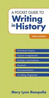9781319113025-1319113028-A Pocket Guide to Writing in History