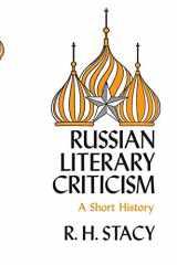 9780815601081-0815601085-Russian Literary Criticism: A Short History