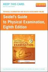 9780323172677-0323172679-Physical Examination and Health Assessment Online for Seidel's Guide to Physical Examination (Access Code)