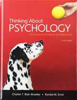9781464186547-1464186545-Thinking About Psychology, High School Version