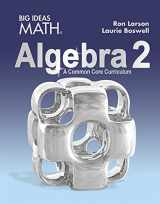 9781608408405-160840840X-BIG IDEAS MATH Algebra 2: Common Core Student Edition 2015