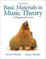 9780205654208-0205654207-Basic Materials in Music Theory: A Programmed Approach (12th Edition)