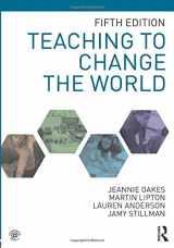 9781138569362-1138569364-Teaching to Change the World