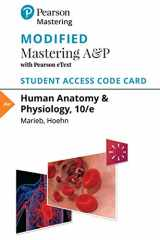 9780133994971-013399497X-Modified Mastering A&P with Pearson eText -- Standalone Access Card -- for Human Anatomy & Physiology (10th Edition)