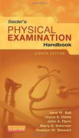 9780323169530-0323169538-Seidel's Physical Examination Handbook (Mosbys Physical Examination Handbook)