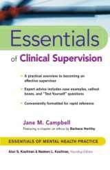 9780471233046-0471233048-Essentials of Clinical Supervision (Essentials of Mental Health Practice)