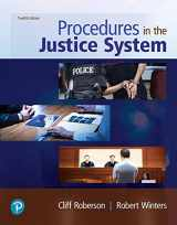 9780135186275-0135186277-Procedures in the Justice System