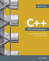 9781337117562-1337117560-C++ Programming: Program Design Including Data Structures (MindTap Course List)